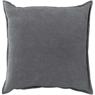 Velizh Poly Euro Pillow, Grays - Home Depot