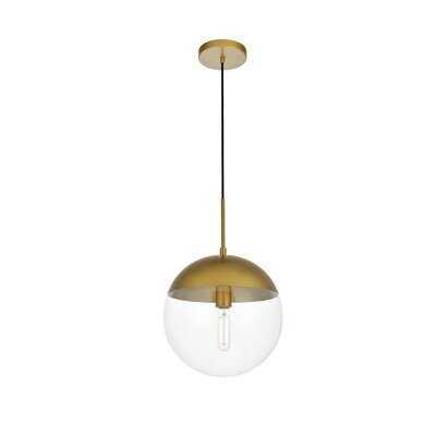 Yearby 1-Light Single Globe Pendant - AllModern