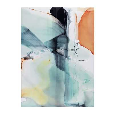Blue Skies Painting Print on Wrapped Canvas - AllModern