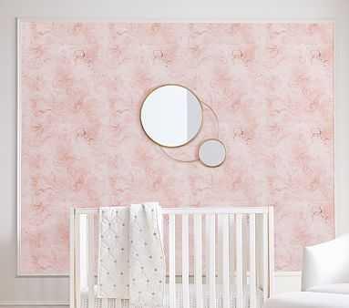 Chasing Paper Wallpaper, Misty Marble - Pottery Barn Kids