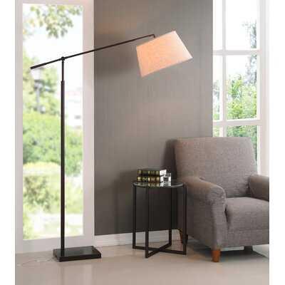 "Everton 67"" Swing Arm Floor Lamp - Birch Lane"