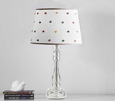 French Knot Table Lamp, Multi-Color - Pottery Barn Kids