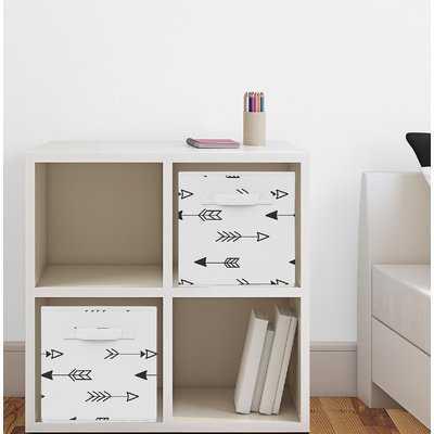 Fox Fabric Storage Cube - Wayfair