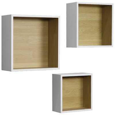Malpelo Square Cube Wall Shelf - Wayfair