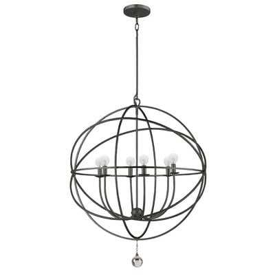 Gregoire 6-Light Unique / Statement Globe Chandelier - AllModern