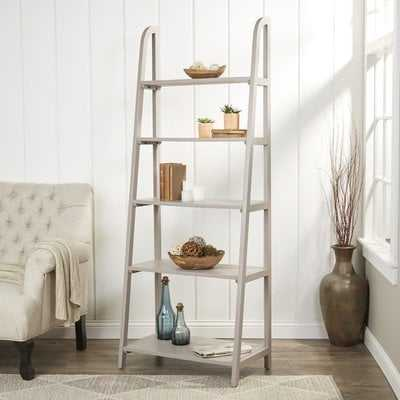 Danner Leaning Bookcase - Wayfair