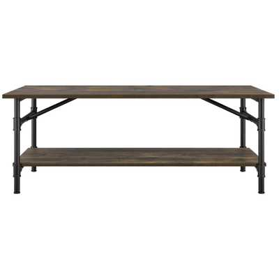 Chesterfield Rustic Coffee Table - Home Depot