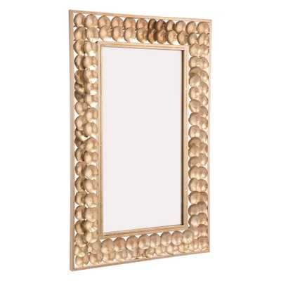 Mini Circles Gold Wall Mirror - Home Depot