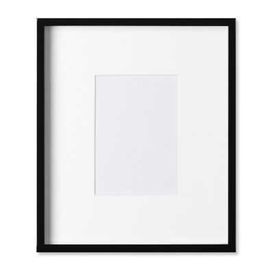 "Black Lacquer Gallery Picture Frame, 5"" X 7"" - Williams Sonoma"