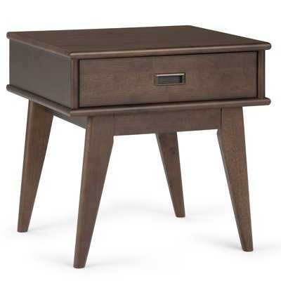 Draper End Table with Storage - Wayfair