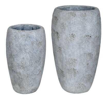 Cheer 2 Piece Table Vase Set - Wayfair