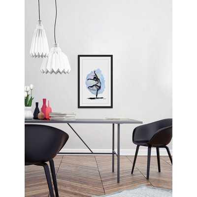 'Black Swan' Framed Painting Print - Wayfair