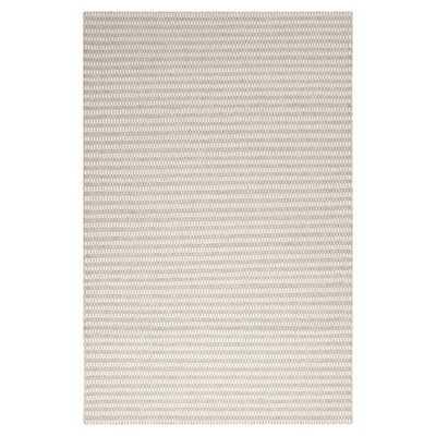 Walton Gray/Ivory Striped Rug - Wayfair