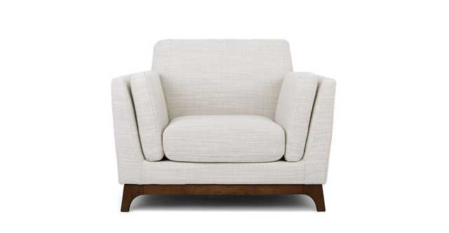 Ceni Fresh White Armchair - Article
