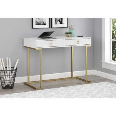 Josie 2 Drawer Desk - Wayfair
