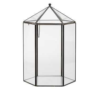 Glass Terrarium, Hexagon - Pottery Barn