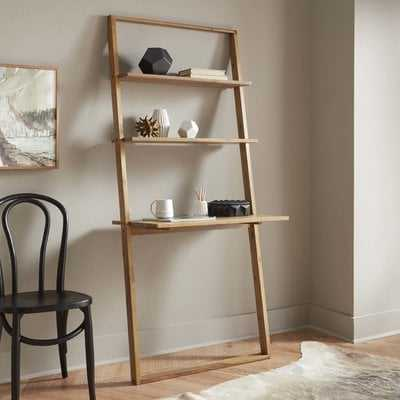 Noelle Solid Wood Leaning/Ladder Desk - AllModern