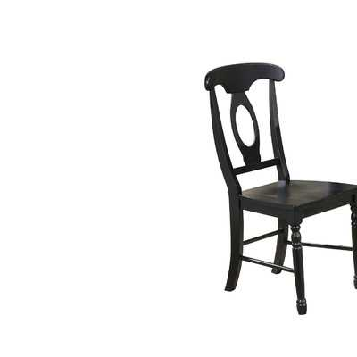Courtdale Solid Wood Dining Chair (Set of 2) - Wayfair