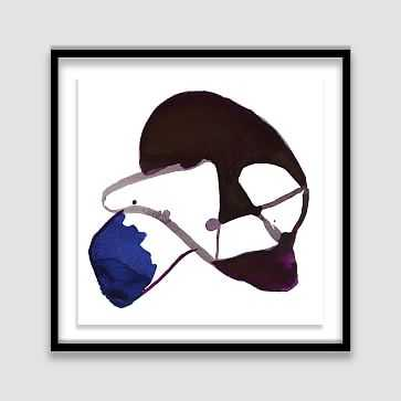 The Arts Capsule Framed Print, Broach 3 - West Elm