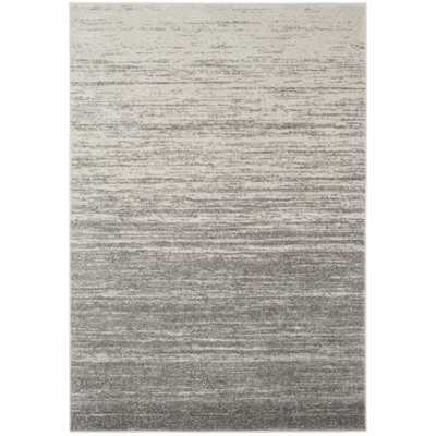 Connie Abstract Gray Area Rug 9'x12' - AllModern