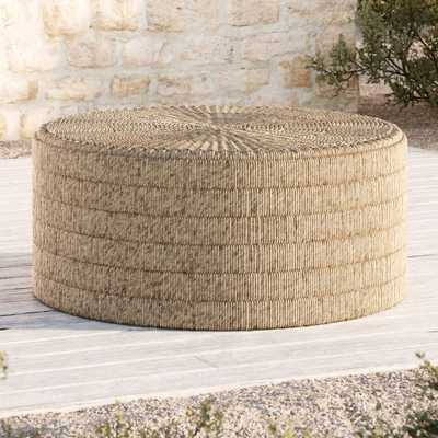 Madura Woven Outdoor Coffee Table - Crate and Barrel