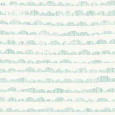Magnolia Home by Joanna Gaines Hill & Horizon Wallpaper, Blue - Home Depot