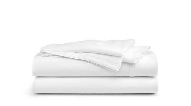 Brooklinen Linen Core Sheet Set - Queen - White - Brooklinen