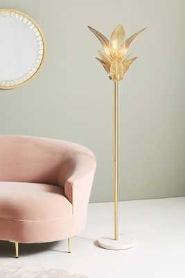Palm Frond Floor Lamp - Anthropologie