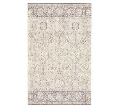 Tuella Printed Rug, 9x12', Neutral Multi - Pottery Barn