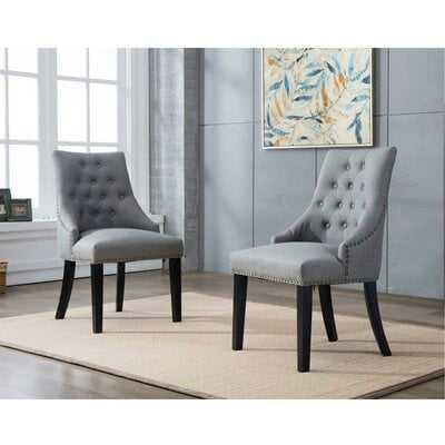 Hopkint Upholstered Dining Chair - Wayfair