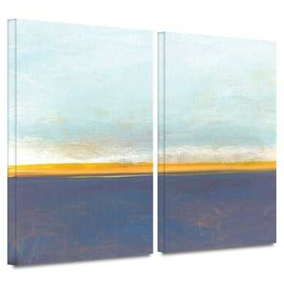 'Big Country Sky I' 2 Piece Painting Print on Wrapped Canvas Set - Wayfair