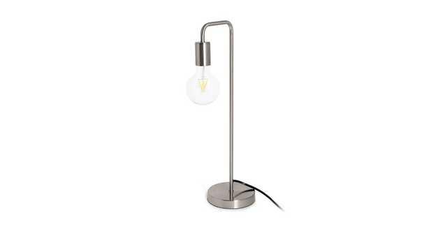 Beacon Nickel Table Lamp - Article