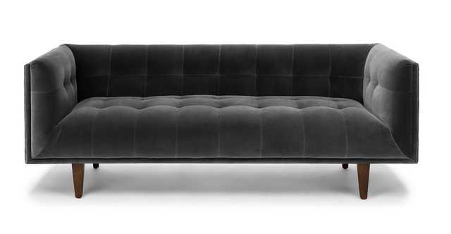 Cirrus Shadow Gray Sofa - Article