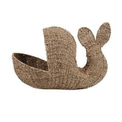 Whale Storage Basket - Wayfair