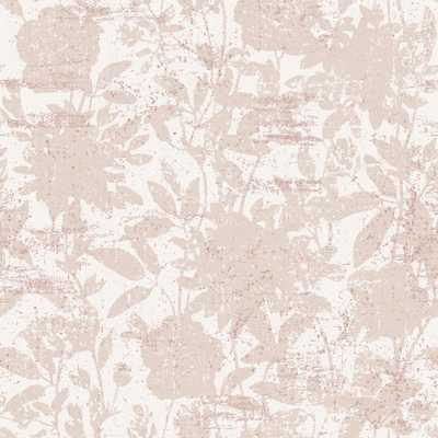 Tempaper Garden Floral Dusted Pink Self-Adhesive, Removable Wallpaper - Home Depot