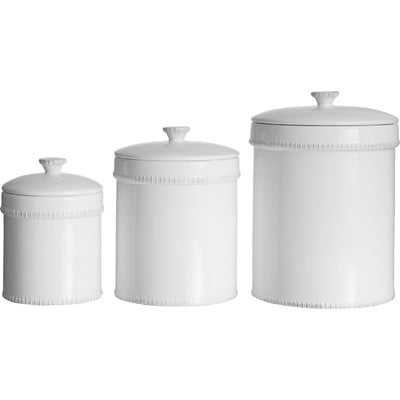 Bianca 3 Piece Kitchen Canister Set - Birch Lane