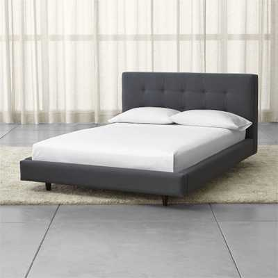 """Tate Full Upholstered Bed 38"""" - Crate and Barrel"""