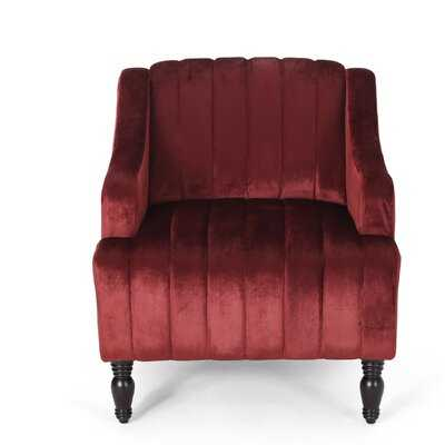 Gonzales Glam Velvet Club Chair - Wayfair