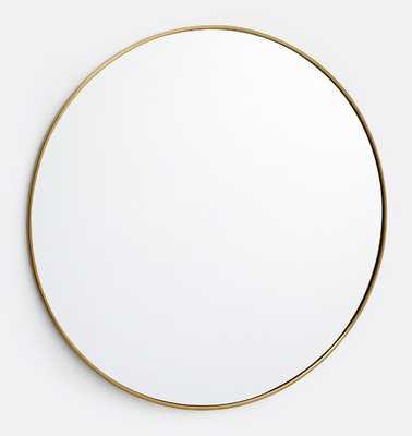 "48"" Round Metal Framed Mirror - Rejuvenation"