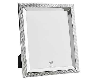 """Silver Weave Picture Frame, 8"""" x 10"""" - Pottery Barn"""