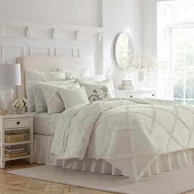 King White Adelina Duvet Cover Set - Stone Cottage - Target