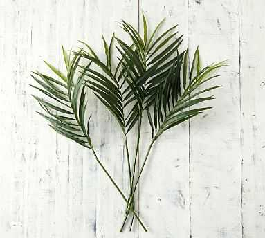 Palm Branch, Green, One - Pottery Barn