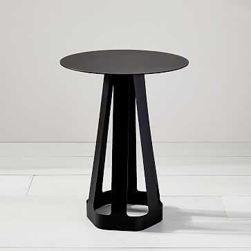 SIXAGON SIDE TABLE, BLACK - West Elm