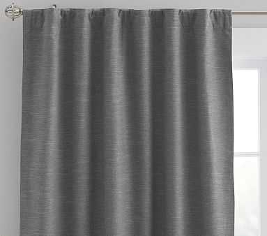 "Evelyn Blackout Panel, 96"", Charcoal - Pottery Barn Kids"