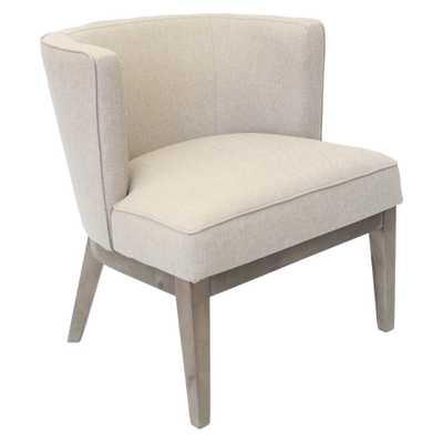 Ava Accent Chair - Beige - Boss - Target