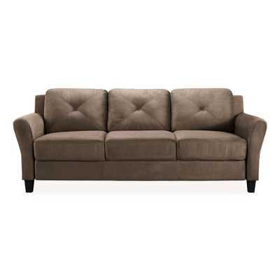 Harvard Sofa in Brown - Home Depot