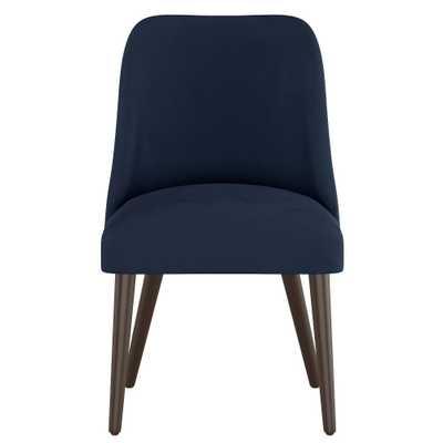 Geller Modern Dining Chair Navy Velvet - Project 62 - Target