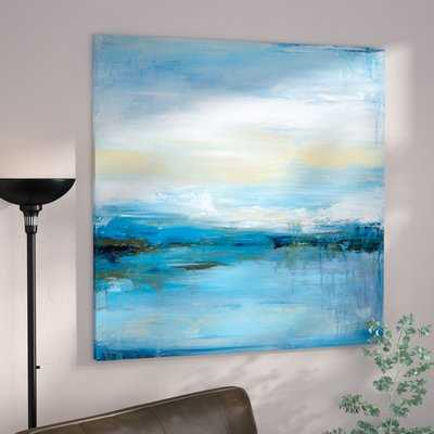Dreaming Blue I by Wani Pasion - Wrapped Canvas Graphic Art Print - AllModern