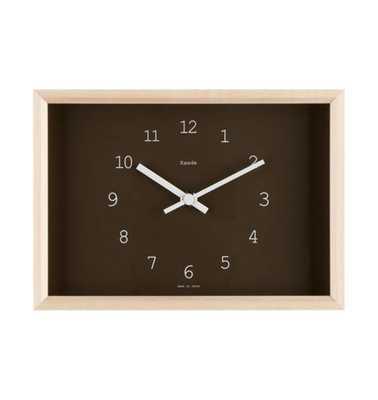 Kaede Maple Table Clock - Rejuvenation