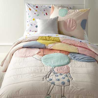 Balloon Twin Quilt - Crate and Barrel